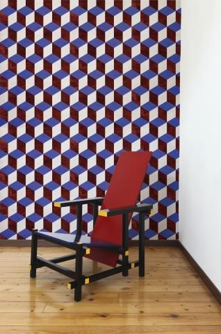 Papier peint géometriquegeometric